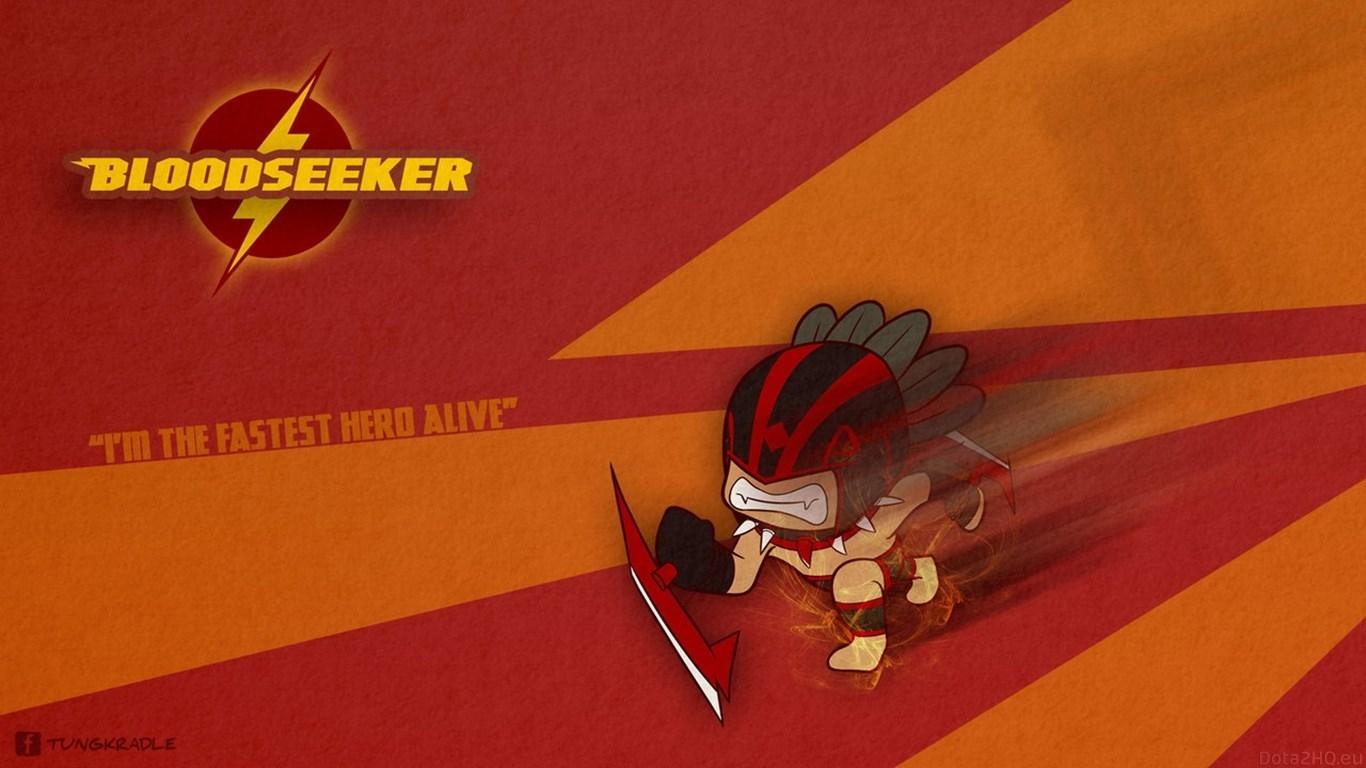 1366x768 2040324 Bloodseeker Dota 2 Wallpaper Hd